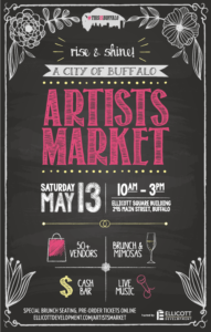 Spring Brunch Edition of City of Buffalo Artists Market on May 13th