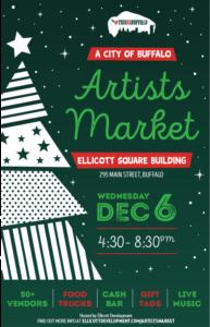 3rd Annual #thisisbuffalo City of Buffalo Artists Market 12/6!